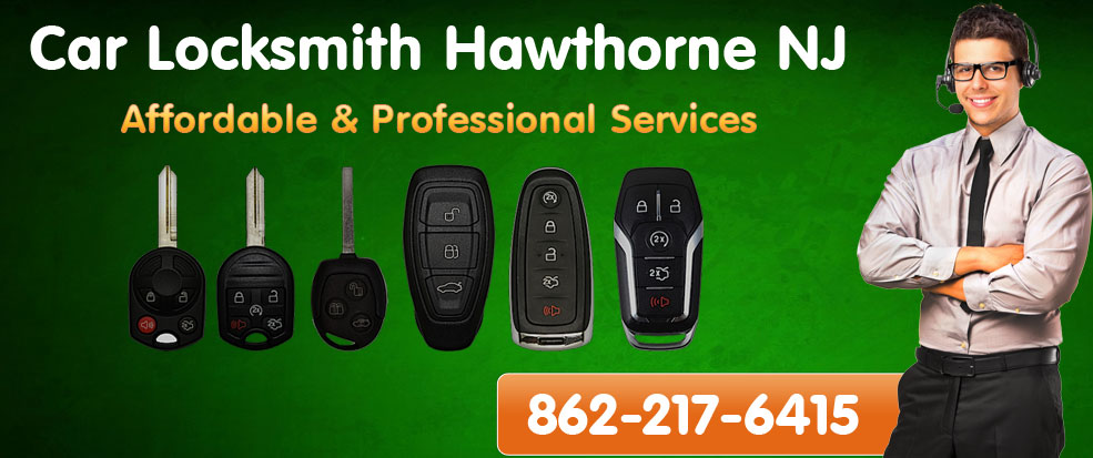 Car Locksmith Hawthorne NJ banner